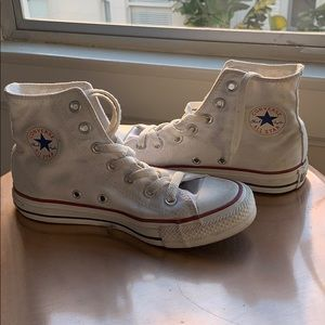 Converse All Star High Top White Canvas
